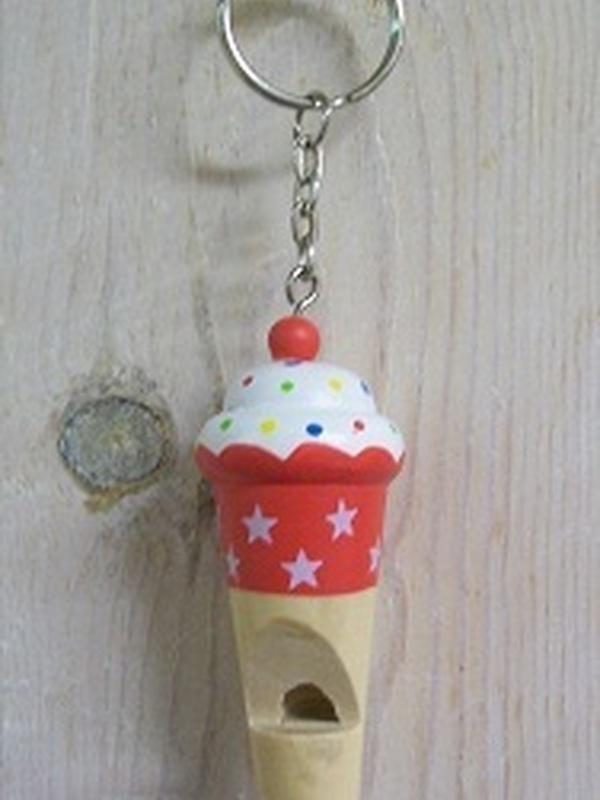 Cupcakes Fluitje Rood