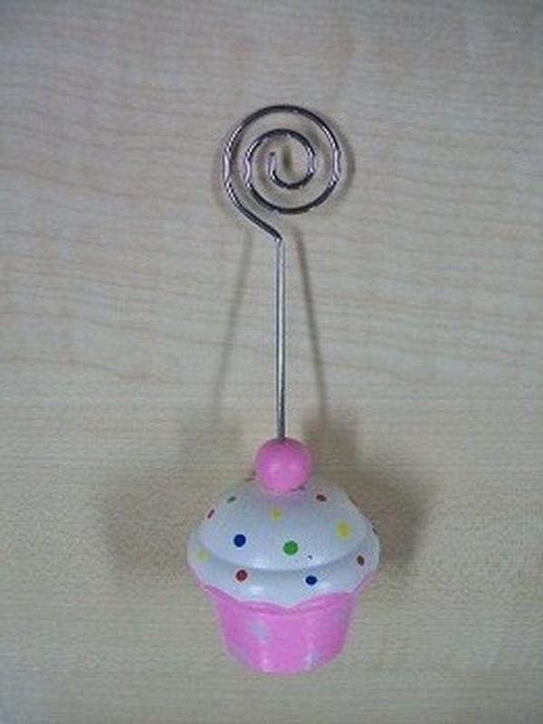 Cupcakes Fotoclip Licht Roze