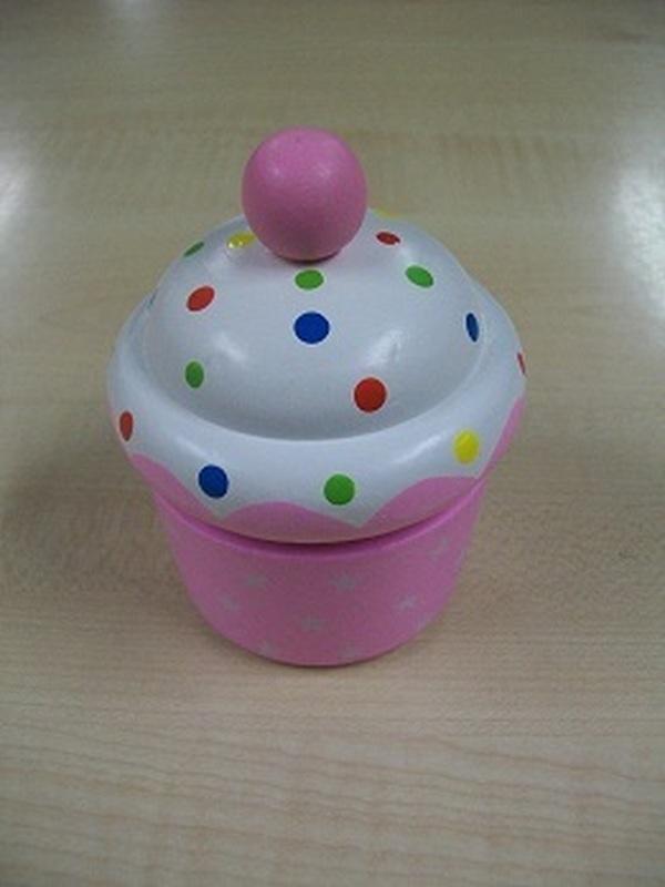 Cupcakes Muziekdoos Licht Roze
