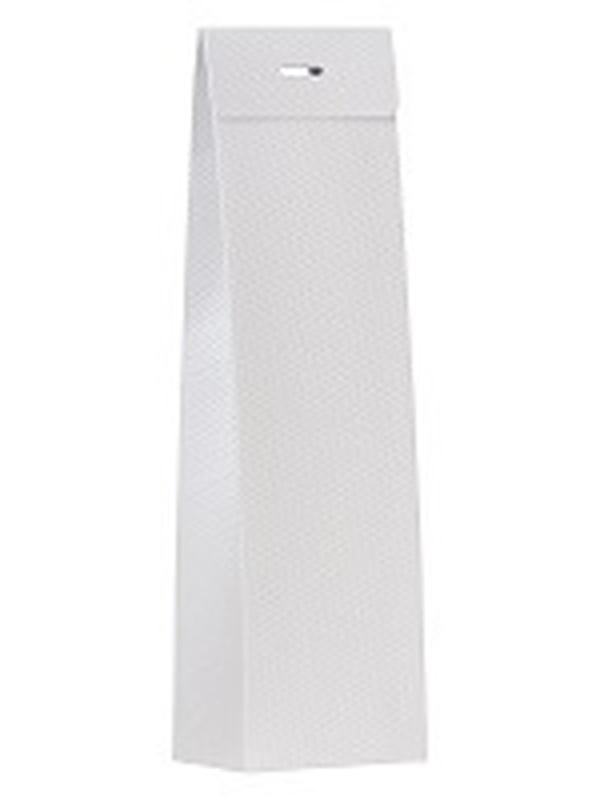 Hoog Doosje Canvasstructuur Wit 773028