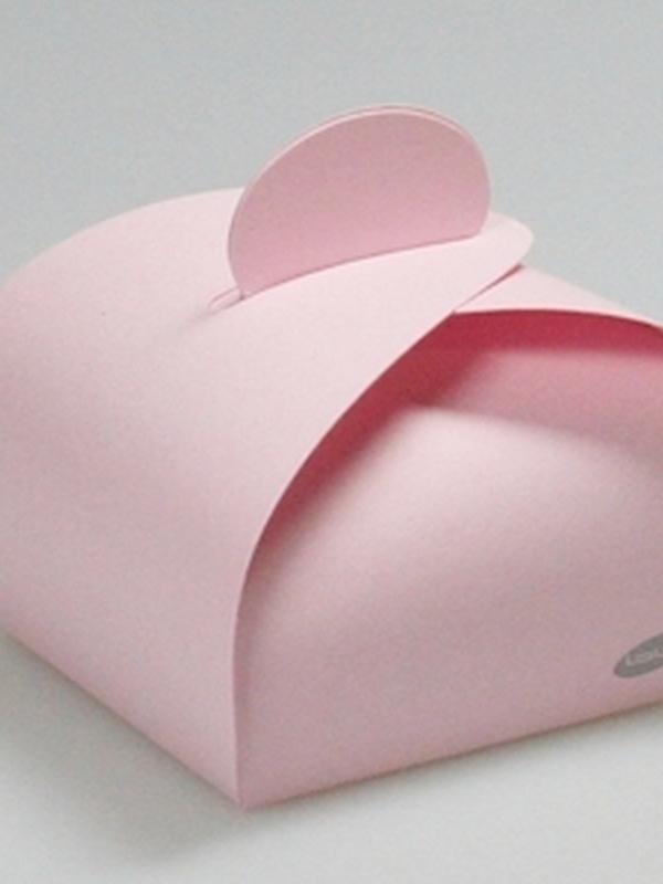 Karton licht Roos Bonbon Doosje 45 MM H X 60 MM