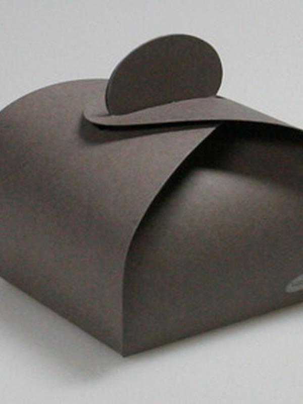 Karton Taupe Bonbon Doosje 45 MM H X 60 MM