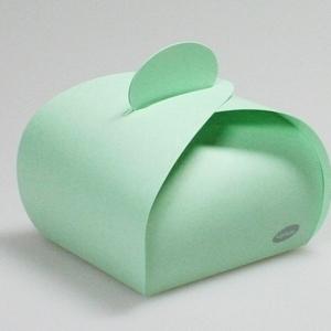 Karton Watergroen Bonbon Doosje 45 MM H X 60 MM