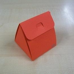Karton Driehoekig Doosje Rood