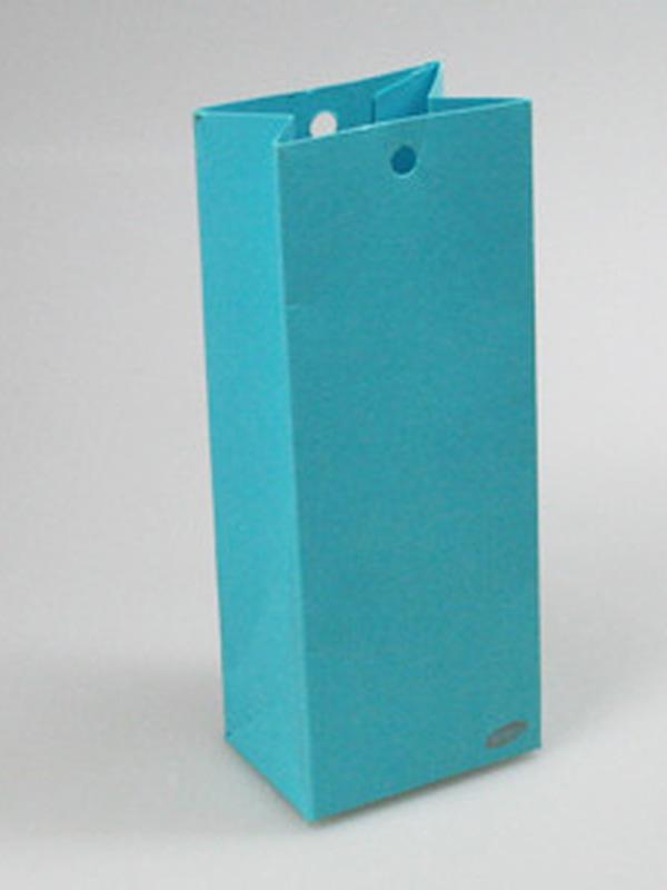 Karton Hoog Doosje Turquoise