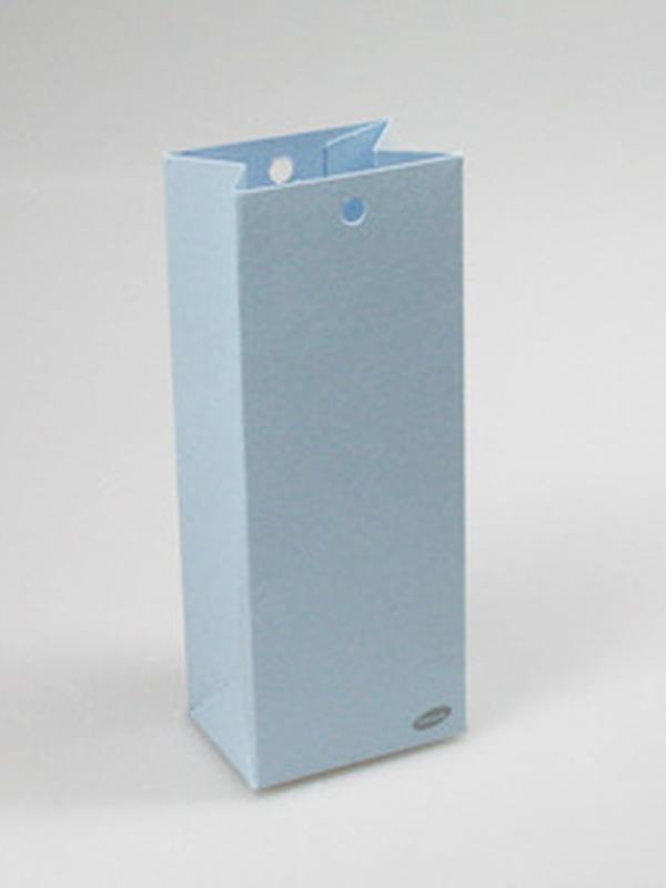 Karton Hoog Doosje Licht Blauw
