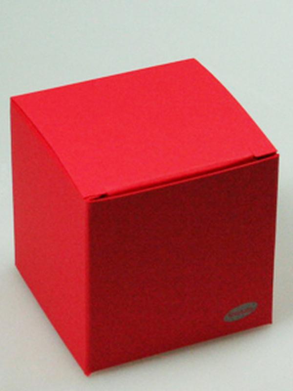 Karton Kubus Rood