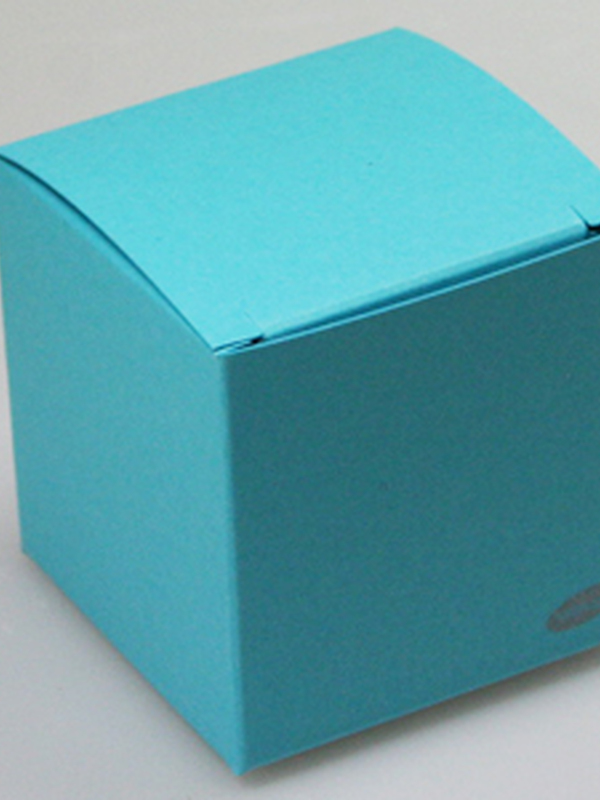 Karton Kubus Turquoise