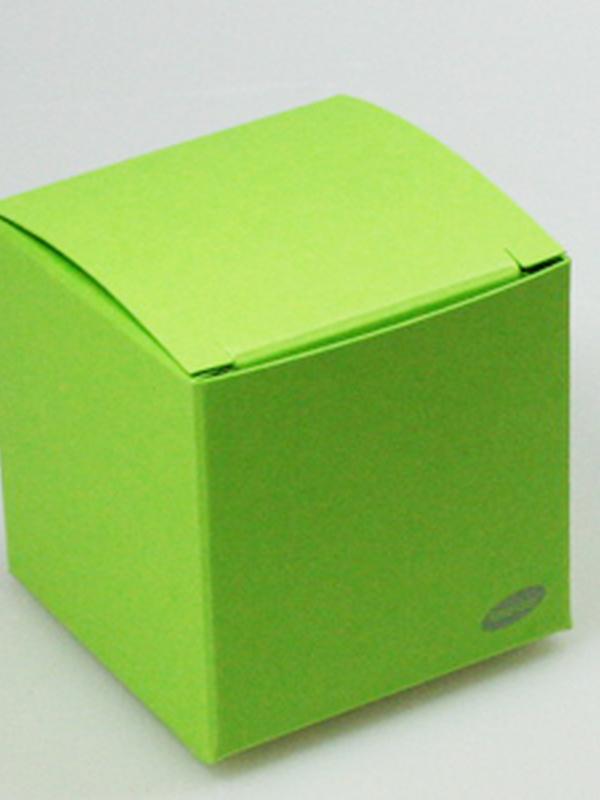 Karton Kubus Fel Groen