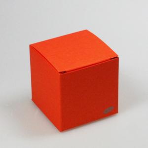 Karton Kubus Oranje