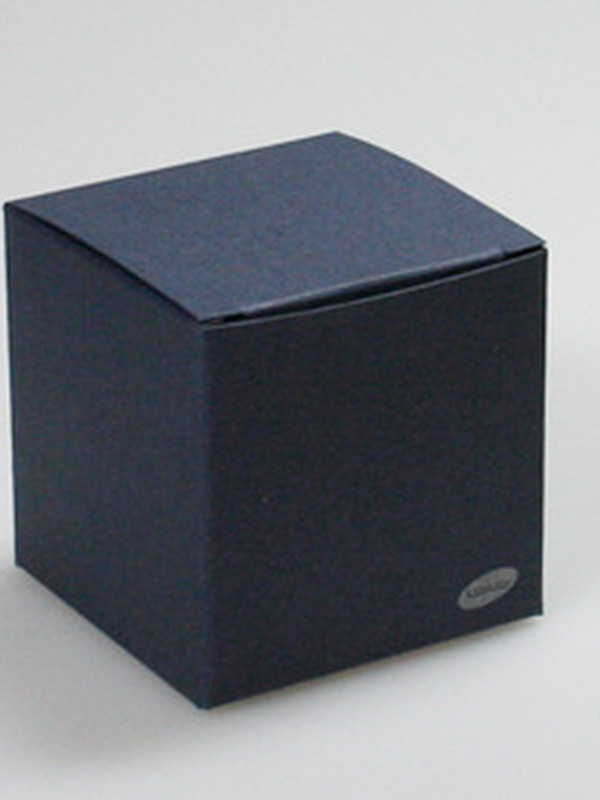 Karton Kubus Nacht Blauw
