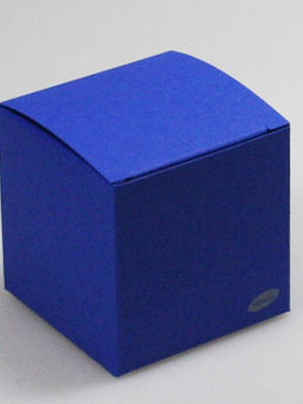Karton Kubus Koningsblauw