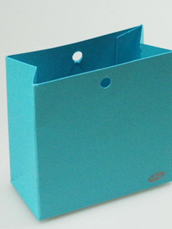Karton Laag Doosje Turquoise