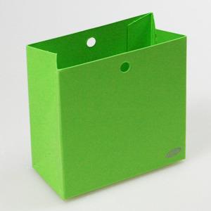 Karton Laag Doosje Fel Groen