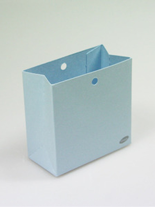 Karton Laag Doosje Licht Blauw