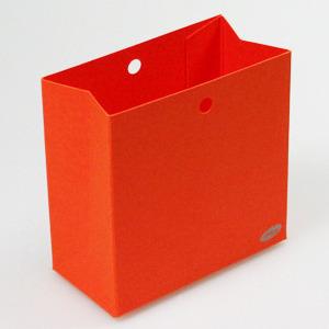 Karton Laag Doosje Oranje