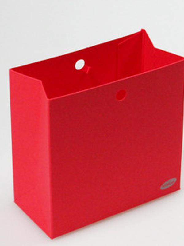 Karton Laag Doosje Rood