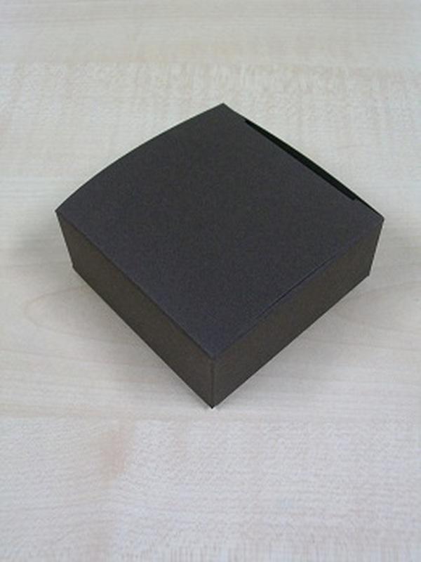 Karton Laag Vierkant Doosje Bruin