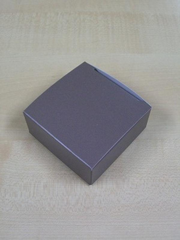 Karton Laag Vierkant Doosje Taupe