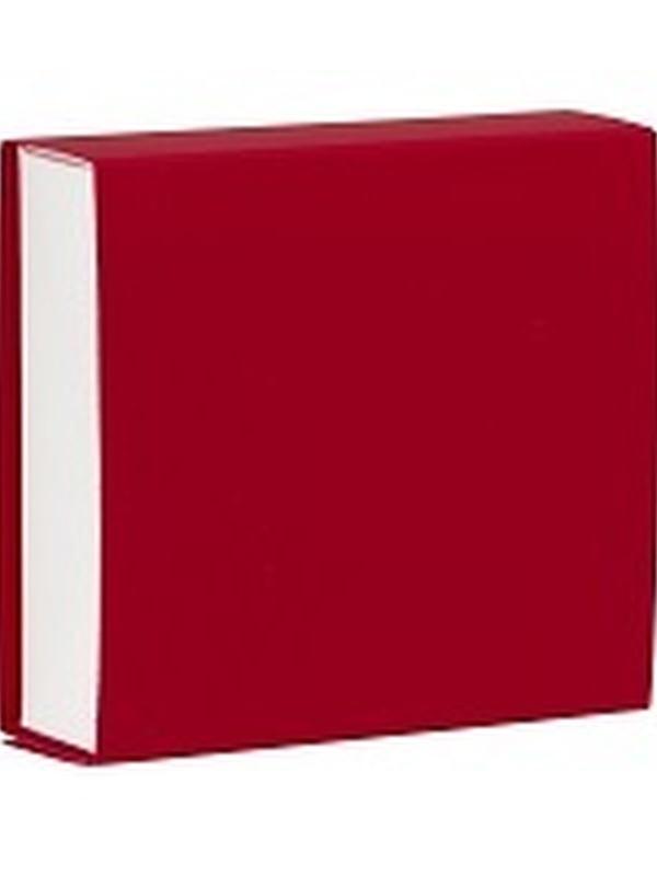 Vierkant Schuifdoosje Rood 722.023