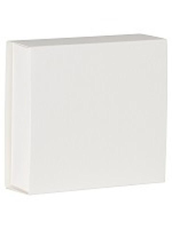 Vierkant Schuifdoosje Wit 721.002