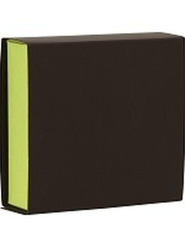 Vierkant Schuifdoosje Bruin-Absint Groen 721.022