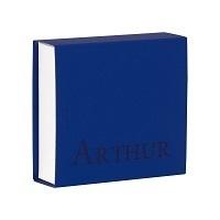 Vierkant Schuifdoosje Donker Blauw 723029