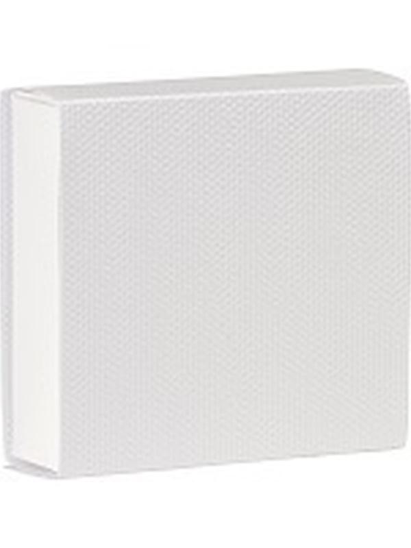 Vierkant Schuifdoosje Canvasstructuur 723028