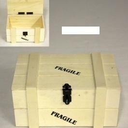 Fragile kist 1kg naturel H 11x L 13 x B 21 cm
