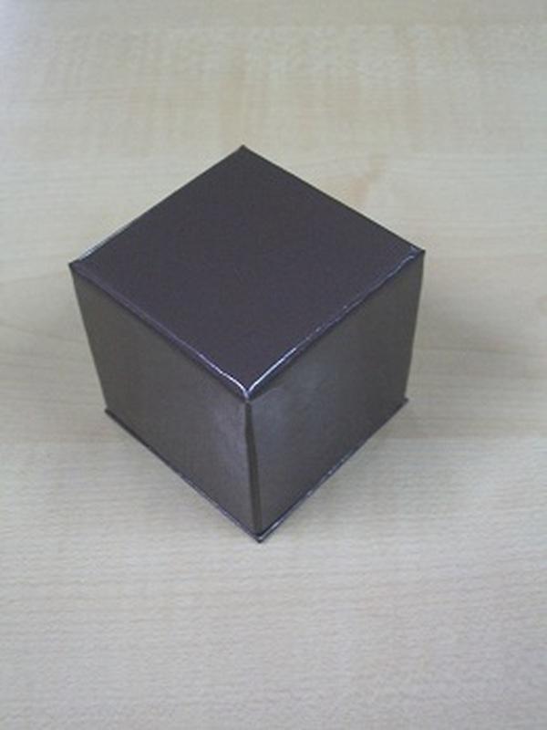 Cocoon Doosje Kubus Taupe 5 cm