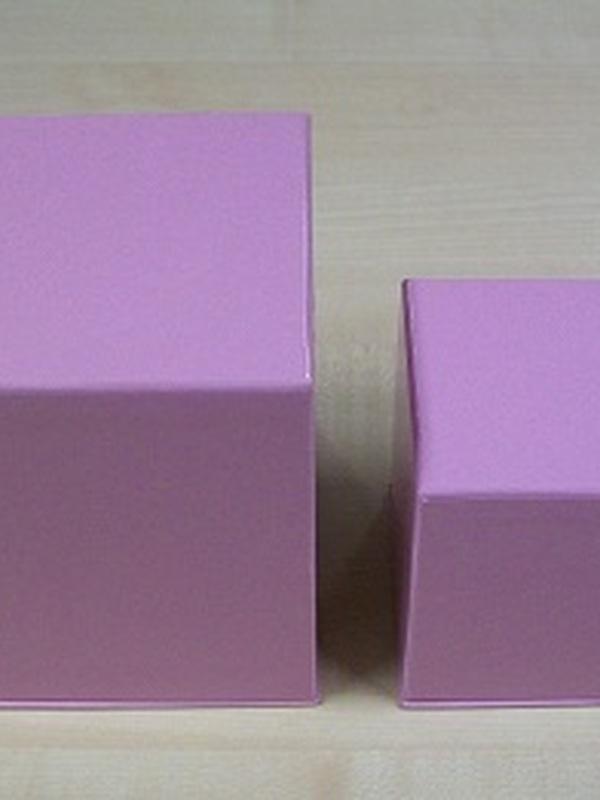 Cocoon Kubus Set 2 stuks Roze Medium