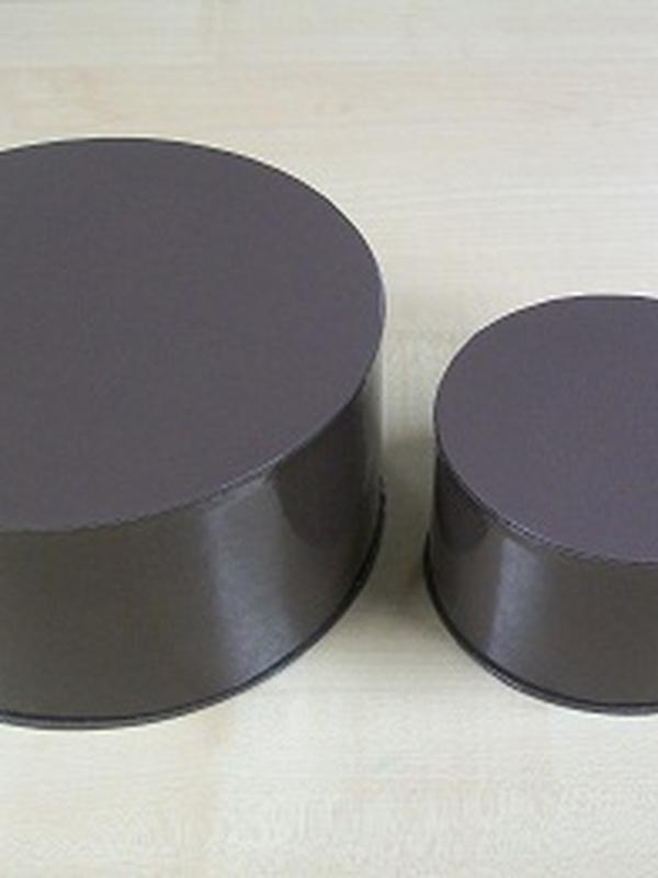 Cocoon Rond Set 2 stuks Taupe Medium