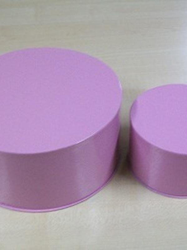 Cocoon Rond Set 2 stuks Roze Medium