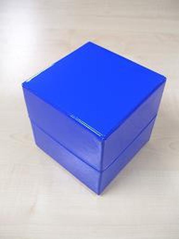Glossy Kubus Groot Koningsblauw
