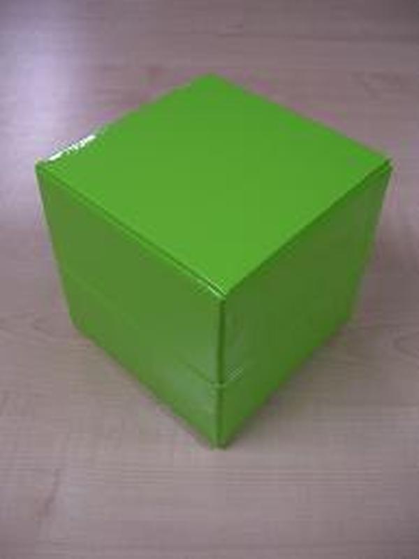 Glossy Kubus Groot Groen