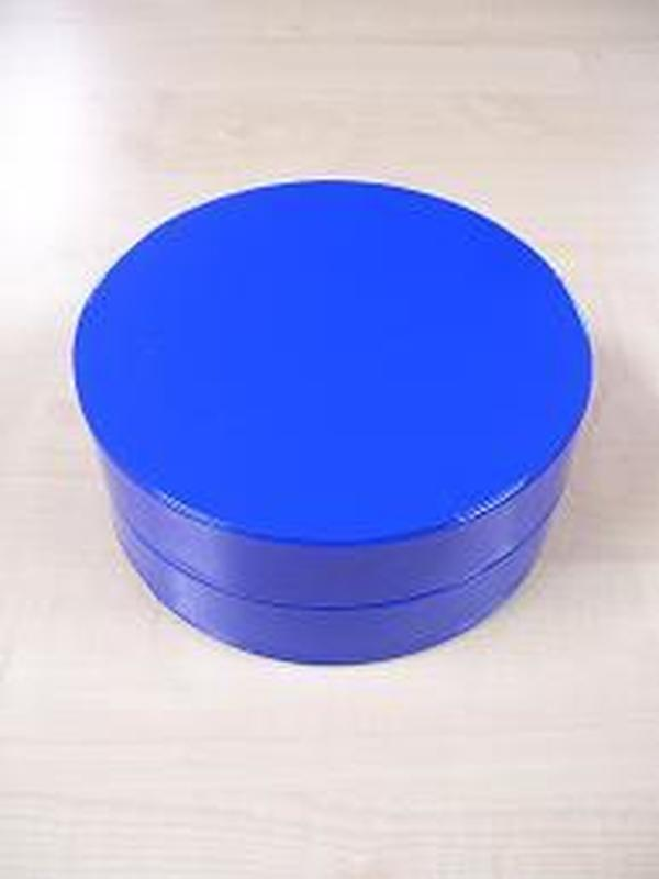 Glossy Rond Groot Koningsblauw