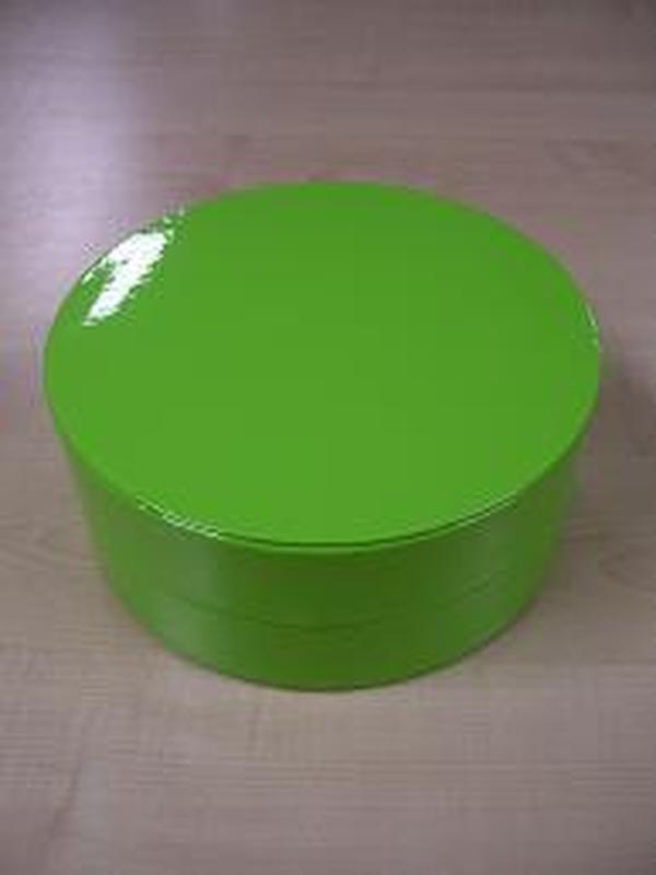 Glossy Rond Groot Groen