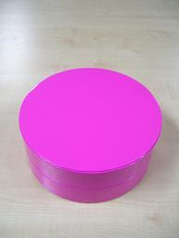 Glossy Rond Groot Fuxia