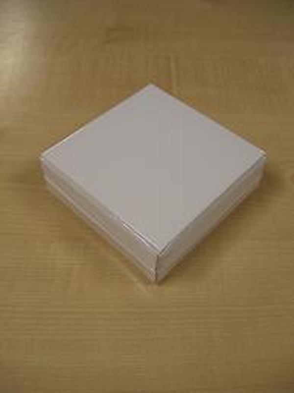 Glossy Doosje Vierkant Wit