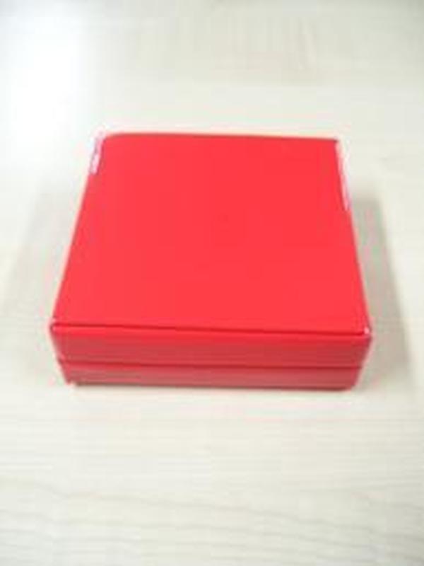 Glossy Doosje Vierkant Rood