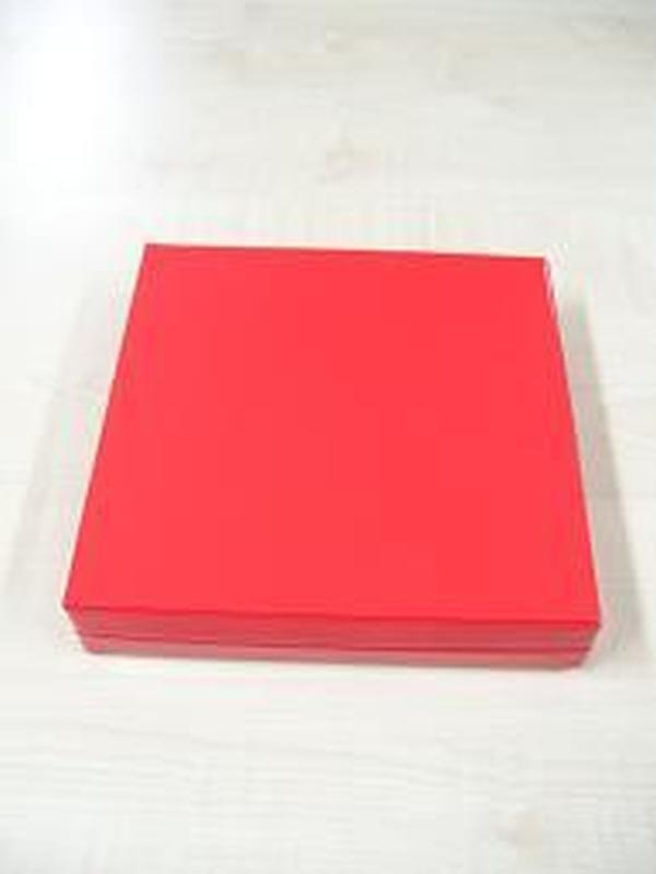Glossy Vierkant Groot Rood