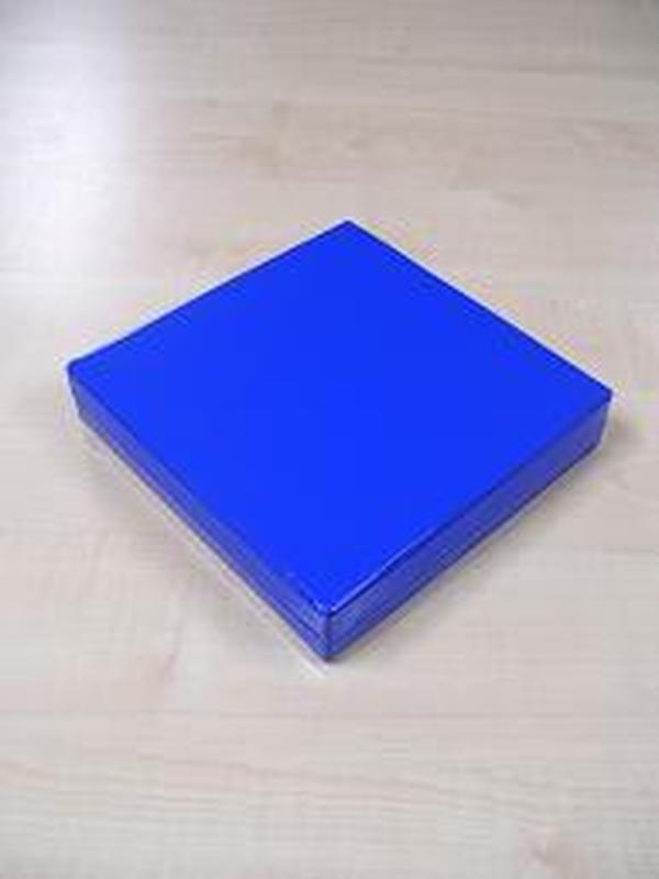 Glossy Vierkant Groot Koningsblauw