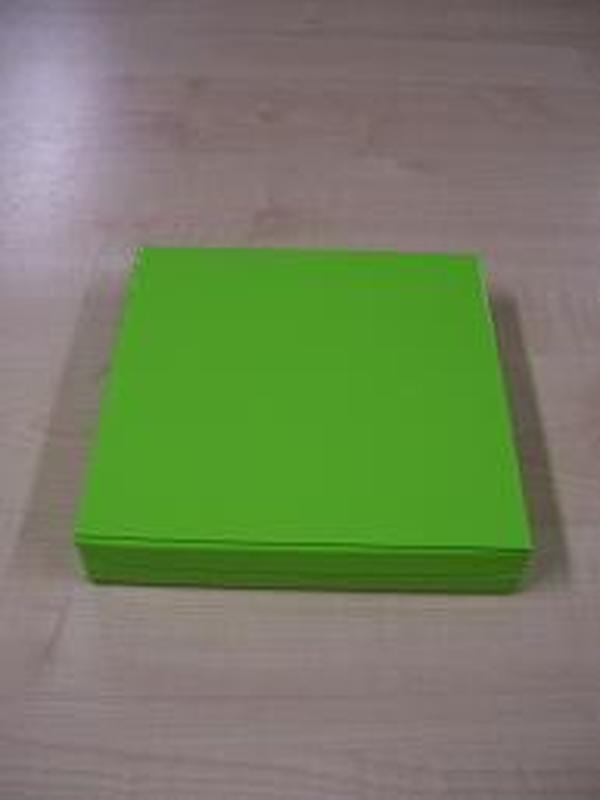 Glossy Vierkant Groot Groen