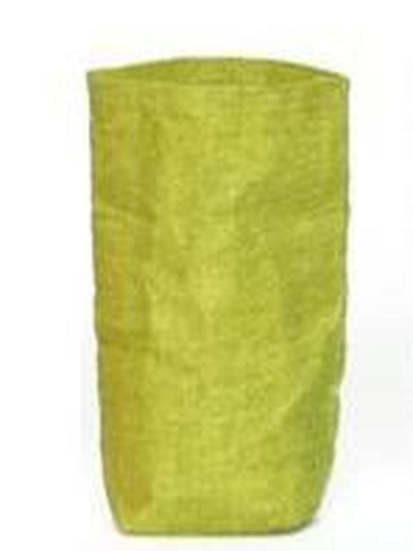 Zakje Linnen Groen 14 x 8 x 3.5 cm