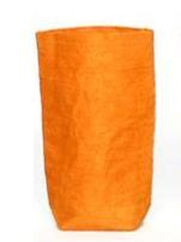 Zakje Linnen Oranje 14 x 8 x 3.5 cm