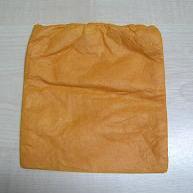 Zakje Papier Fijn Oranje