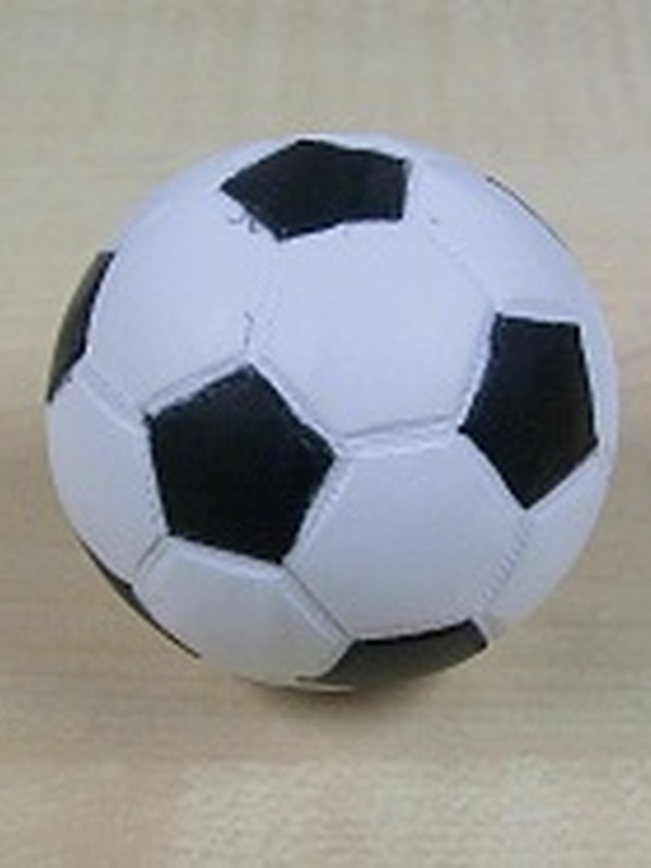 Stuiterbal Voetbal 5 cm