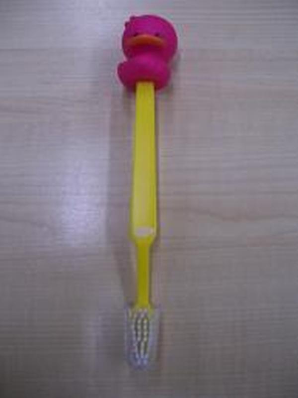 Eend Tandenborstel Fel Roos