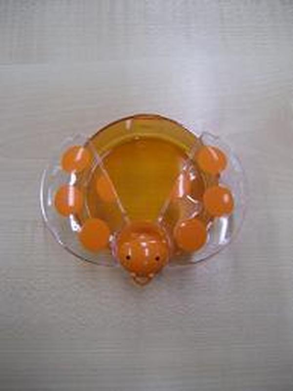 lieveheersbeestje oranje stippen