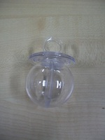 Plexi Fopspeen h = 7cm br = 4,5 cm